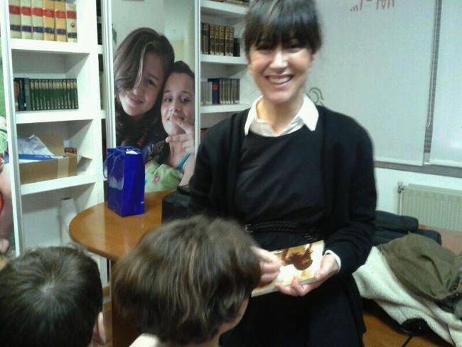 Nena Daconte en Aldeas Infantiles